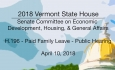 Vermont State House: H.196 - Paid Family Leave - Public Hearing 4/10/18