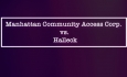 Mike Abadi Hosts - Manhattan Community Access Corp vs Halleck