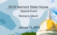 Vermont State House Special Event - Women's March 1/19/19