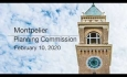Montpelier Planning Commission - February 10, 2020