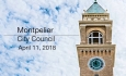 Montpelier City Council - April 11, 2018