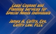 Abled and on Air: Legal Counsel and Planning Services for Special Needs Individuals
