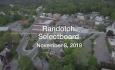 Randolph Selectboard - November 8, 2018