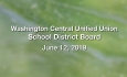 Washington Central Unified Union School District - June 12, 2019