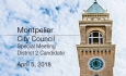 Montpelier City Council - Special Meeting District 2 Candidate 4/5/18