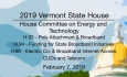 Vermont State House - H.93, H.94, H.95, CUDs and Telecom 2/7/19