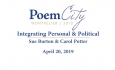 Poem City - Integrating Personal and Political