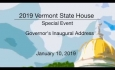 Vermont State House Special Event:  Governor's Inaugural Address 2019