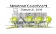 Moretown Selectboard - October 21, 2019
