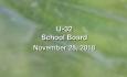 U-32 School Board - November 28, 2018