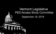 PEG Access Study Committee - September 18, 2019