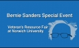 Bernie Sanders Special Event - Veteran's Resource Fair at Norwich University