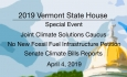 Vermont State House Special Event - Joint Climate Solutions Caucus 4/4/19