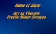 Abled and on Air: Art as Therapy, Profile of Mindy Sprague