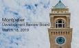 Montpelier Development Review Board - March 18, 2019