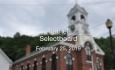 Bethel Selectboard - February 25, 2019