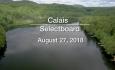 Calais Selectboard - August 27, 2018
