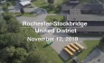 Rochester-Stockbridge Unified District - Special Building Committee Meeting 11/12/19