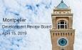 Montpelier Development Review Board - April 15, 2019