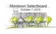 Moretown Selectboard - October 7, 2019