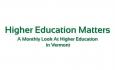 Higher Education Matters - Jesse Streeter