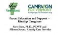 Vote for Vermont:  Parent Education and  Support - Kinship Caregivers