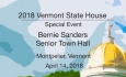 VT State House Special Event - Bernie Sanders Senior Town Hall