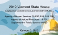 Vermont State House - Legislative Committee on Administrative Rules 10/3/19