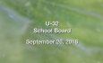 U-32 School Board - September 26, 2018
