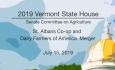 Vermont State House - St. Albans Co-op and Dairy Farmers of America Merger