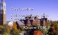 Osher Lifelong Learning Institute - Gary Lee Miller: Addiction and Recovery in Central Vermont