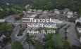 Randolph Selectboard - August 16, 2018
