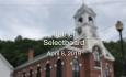 Bethel Selectboard - April 8, 2019
