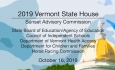 Vermont State House - Sunset Advisory Commission 10/16/19