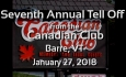 Extempo - Seventh Annual Tell Off - January 27, 2018