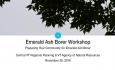 Central VT Regional Planning - Emerald Ash Borer Workshop