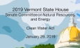 Vermont State House - Clean Water Act 1/29/19