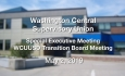 Washington Central Supervisory Union - Special Executive Meeting 5/2/19