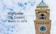 Montpelier City Council - March 14, 2018