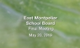 East Montpelier School Board - May 20, 2019