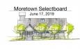Moretown Selectboard - June 17, 2019
