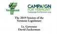 Vote for Vermont: Lt. Governor David Zuckerman, 2019 Legislative Session