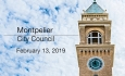Montpelier City Council - February 13, 2019
