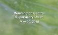 Washington Central Supervisory Union - May 30, 2018