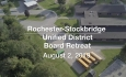 Rochester-Stockbridge Unified District - Special Meeting - Board Retreat 8/2/2019