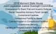 Vermont State House - Joint Legislative Justice Oversight Committee 10/18/19