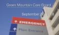 Green Mountain Care Board - September 26, 2018
