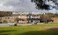 Montpelier - Roxbury School Board - March 6, 2019