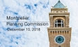 Montpelier Planning Commission - December 10, 2018