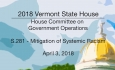 Vermont State House: S.281 - Systemic Racism Mitigation 4/3/18
